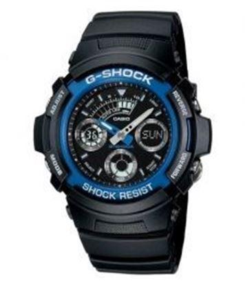 圖片 CASIO G-Shock 耐冲击专业赛车表赛车男手表 AW-591-2A